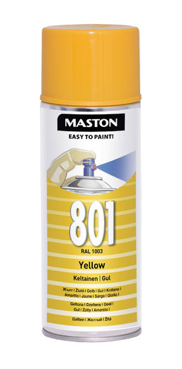 Maston Spraymaali keltainen 400ml