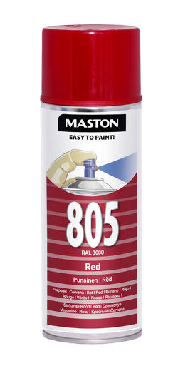 Maston Spraymaali punainen 400ml