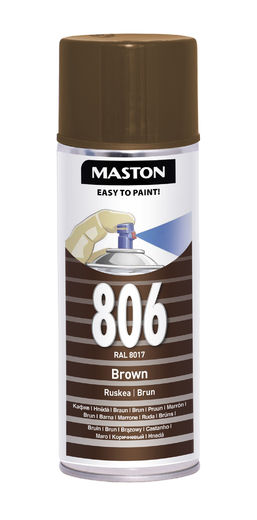 Maston Spraymaali ruskea 400ml