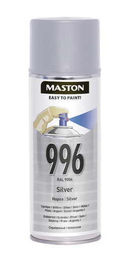 Maston Spraymaali hopea 400ml