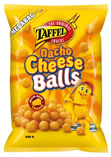 Taffel Nacho Cheese Balls juustosnacks 235g
